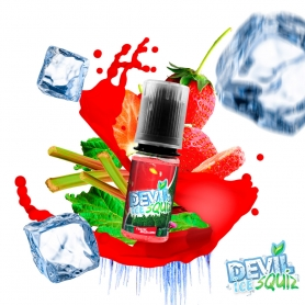 DEVIL ICE SQUIZ - Fraise Rhubarbe 10ml