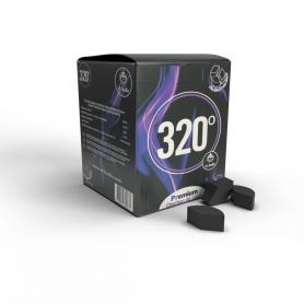 Charbons 320° en disque pour chicha 1Kg